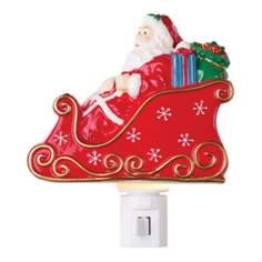 Santas Sleigh Night Light