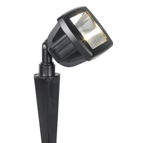 Black Finish Low Voltage Landscape Flood Light