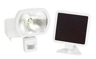 Solar Power Security Motion Detector Outdoor Light (22833) 22833