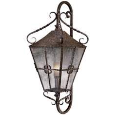 "Villa Escala 50"" Old World Outdoor Wall Lantern"