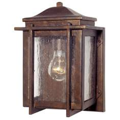 "American Bungalow™ 11"" High Outdoor Wall Light"