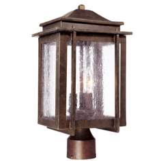 "American Bungalow Collection 16 3/4"" High Outdoor Post Light"