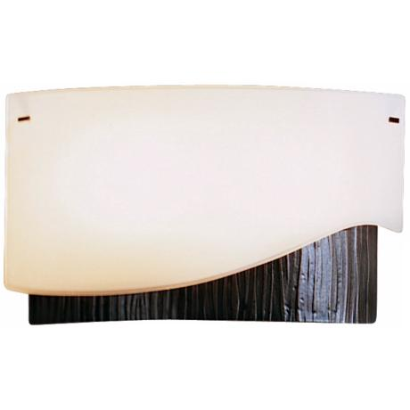 "Hubbardton Forge Impressions Right 7 1/2"" High Wall Sconce"