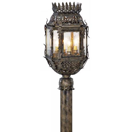 "Odessa Collection 22 3/4"" High Outdoor Post Light Fixture"