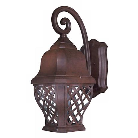 "British Isle 23 1/4"" High Dark Sky Outdoor Wall Light"
