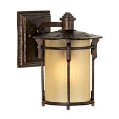 "Arroyo Park Collection 10"" High Outdoor Wall Light"