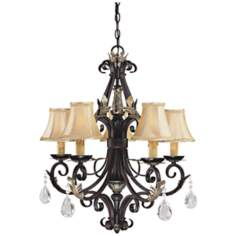 "Minka Bellasera Collection 24 1/2"" Wide Chandelier"