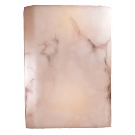 "Alabaster Dust Glass 11"" High ENERGY STAR® Wall Sconce"