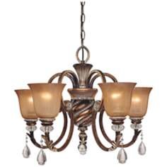 "Minka Aston Court 27"" Wide Chandelier"