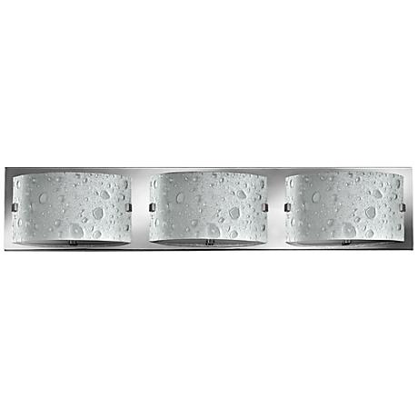 "Hinkley Daphne 24"" Wide Chrome Bathroom Light"