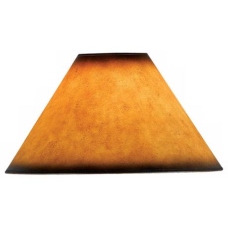 Leatherette Empire Shade 6x16x11 (Spider)