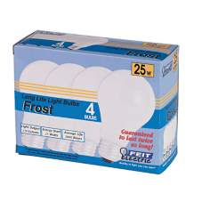 25-Watt Frost 4-Pack Light Bulbs