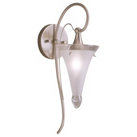 Fontaine Collection Brushed Nickel Wall Sconce