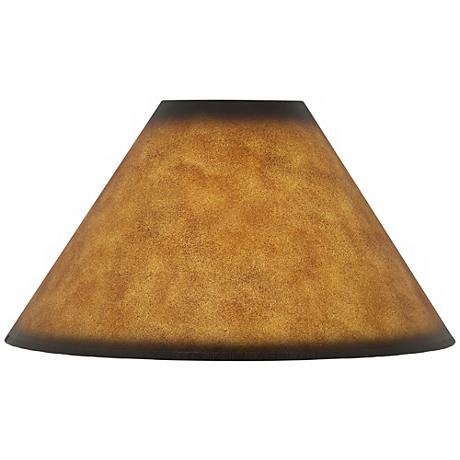 Leatherette Empire Shade 6x19x12 (Spider)