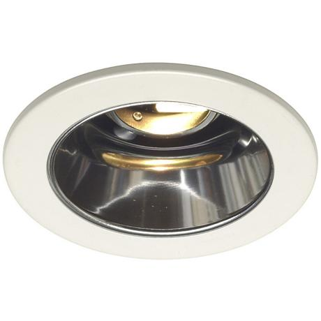 "Juno 4"" Low Voltage Clear Alzak Recessed Light Trim"