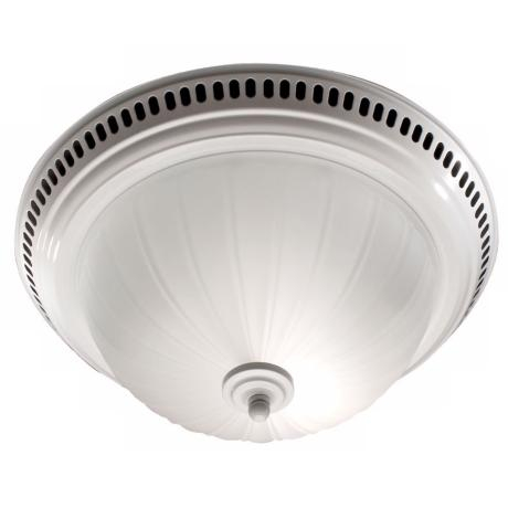 NuTone Frosted Glass Bathroom Exhaust Fan with Light