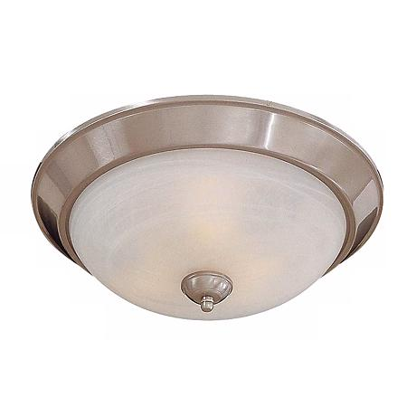 "Brushed Nickel 13"" Wide ENERGY STAR® Ceiling Light"
