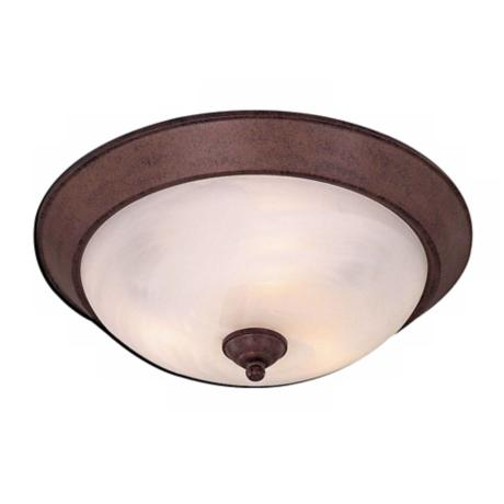 "Antique Bronze 15"" Wide ENERGY STAR® Ceiling Light"