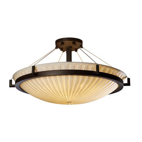 "Porcelina Waterfall Bronze 26 1/2"" Wide Ceiling Light"