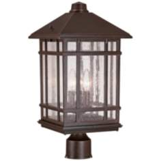 "J du J Sierra Craftsman 18"" High Outdoor Post Mount"