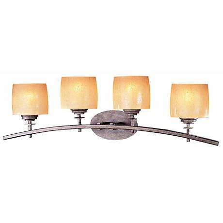 "Raiden Collection 32 1/2"" Wide Bathroom Light Fixture"
