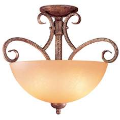 "Caspian Collection 16"" Wide Ceiling Light Fixture"