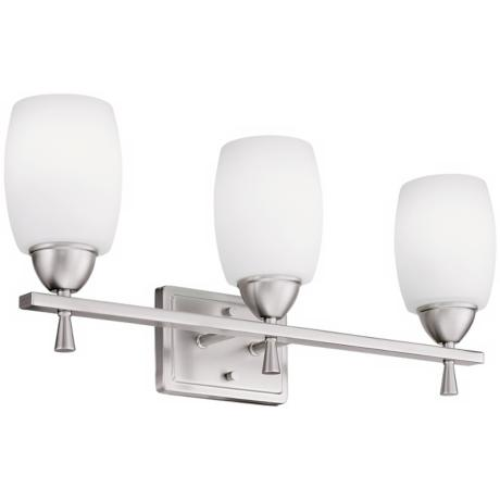 "Ferros ENERGY STAR® 24"" Wide Nickel Bathroom Fixture"