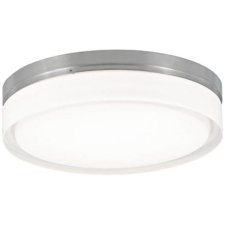"Tech Lighting Cirque 11""W Nickel Round Ceiling Light"