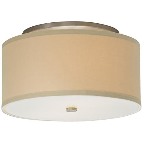 "Tech Lighting Mulberry 13"" Wide Desert Drum Ceiling Light"