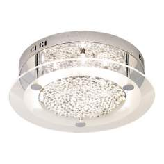 "Possini Euro Crystal Disc 15 3/4"" Wide Ceiling Light Fixture"
