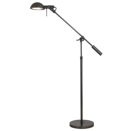 Sonneman Dome Boom Arm Floor Lamp