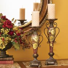 Possini Collection Candle Holders at LAMPS PLUS