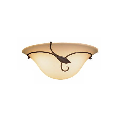 Hubbardton Forge Right Leaf and Stem Pocket Wall Sconce