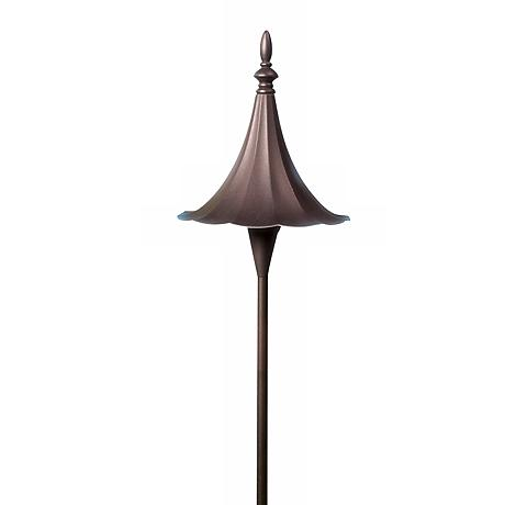 Dabmar Bronze Finish Path Light