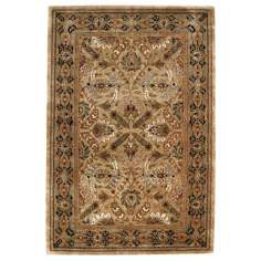 Coat of Arms Sand Area Rug