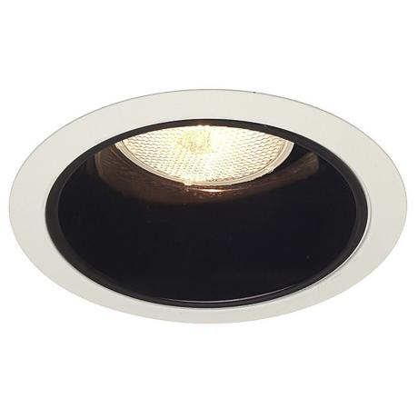 "Juno 6"" Line Voltage Black Alzak Recessed Light Trim"
