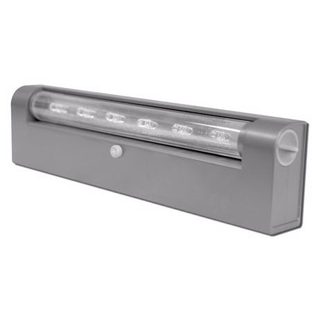 Rite Lite Battery Powered Grey Finish Under Cabinet LED