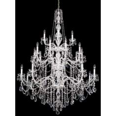 Schonbek Lillian Collection Ten Light Crystal Chandelier
