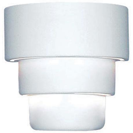 "Up/Down 10"" High Ceramic Outdoor Wall Light"