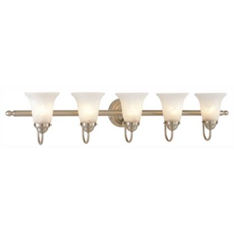 "Sussex Collection 41"" Wide Bathroom Light Fixture"