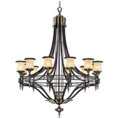 "Georgian Court Collection 48"" Wide Large Chandelier"