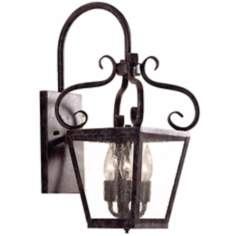 "Courtyard Collection 20"" High Outdoor Wall Light Fixture"