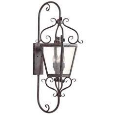 "Courtyard Collection 42 1/2"" High Outdoor Wall Light"