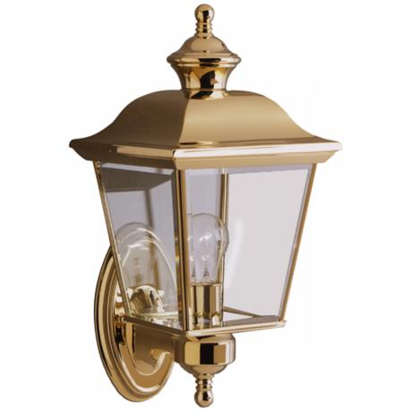 "Kichler Lifebrite 19 1/2"" High Outdoor Wall Light"