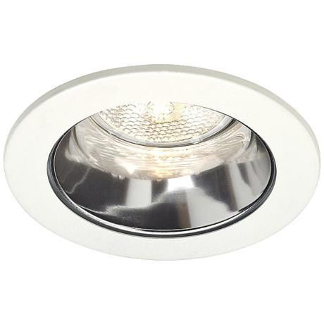 "Juno 4"" Line Voltage Clear Alzak Recessed Light Trim"