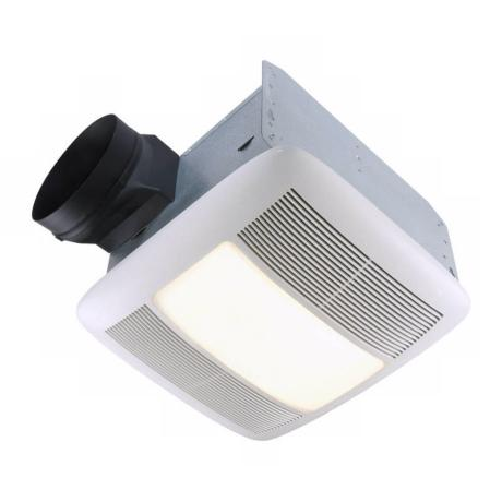 Nutone energy star 6 ducting light and bathroom exhaust for 6 bathroom exhaust fan