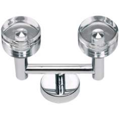 "Optimism Polished Chrome 3 1/2"" Wide Bath Hook"
