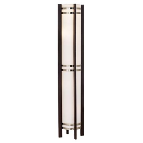 Possini Euro Design Hybrid Torchiere Accent Light Floor Lamp