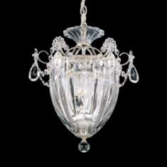 "Schonbek Bagatelle Collection 10 1/2"" Wide Crystal Pendant"