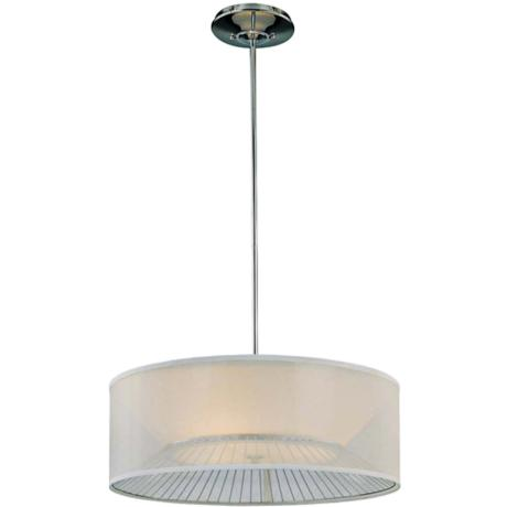 "George Kovacs Bridge 25"" Wide Pendant Light"